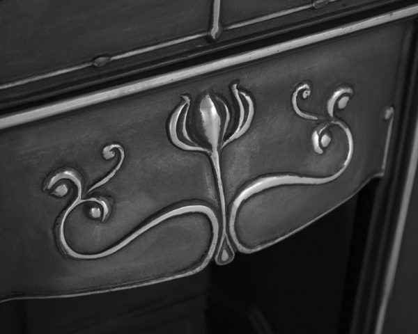 Abbot Cast Iron Combination Fireplace Close up Home Refresh 2020