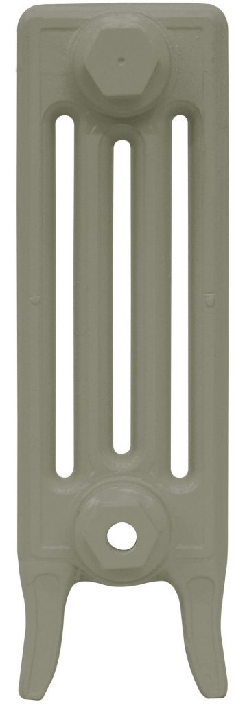 CAST IRON RADIATOR VICTORIAN 460 FRENCH GREY
