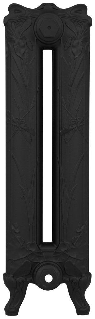 Cast Iron Radiator Dragonfly Satin Black