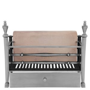 The Georgian Cast Iron Fire Basket