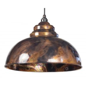 BURNISHED HARBORNE PENDANT FROM THE ANVIL HOME REFRESH MAIN