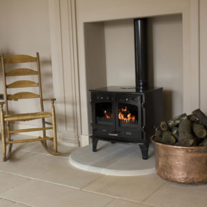 Carron 11kW Cast Iron Stoves Wood Burning Main