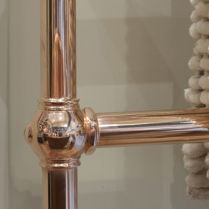 Colossus Horse Steel Towel Rail - 935mm x 625mm (Copper Finish) Main2 Carron_Home Refresh