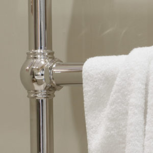 Colossus Horse Steel Towel Rail - 935mm x 625mm (Nickel Finish) Main3 Carron_Home Refresh