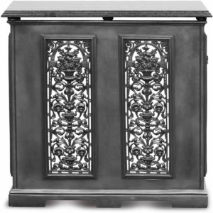 2 Panel Radiator Cover - Black Carron_Home Refresh