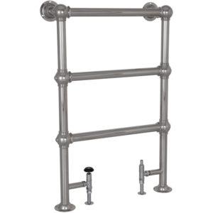 Colossus Steel Towel Rail Chrome - 1000mm x 650mm Carron_Home Refresh