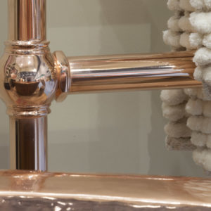 Colossus Steel Towel Rail Copper - 1000mm x 650mm Main2 Carron_Home Refresh.jpg