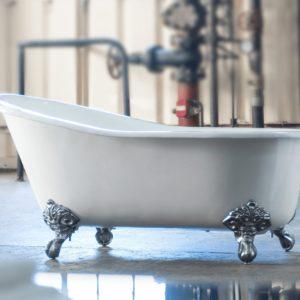 Arroll Cast Iron Free Standing Bath The Bordeaux