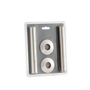 Home Refresh Arroll 130mm Pipe Shroud– Brushed Nickel 1
