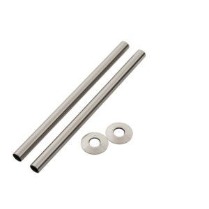 Home Refresh Arroll 300mm Pipe Shroud – Brushed Nickel