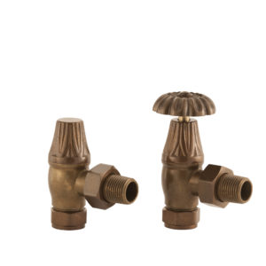 Home Refresh Arroll Crocus Wheel 15mm Inlet Manual Valve (Antique Copper)