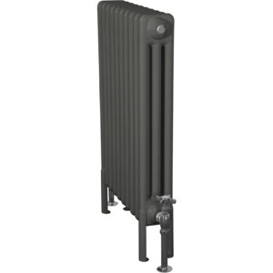 Home-Refresh-Enderby-3-Column-10-Section-Steel-Radiator-710mm-Farrow-and-Ball-Down-Pipe-Colour-Finish