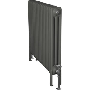 Home-Refresh-Enderby-3-Column-17-Section-Steel-Radiator-710mm-Farrow-and-Down-Pipe-Colour-Finish