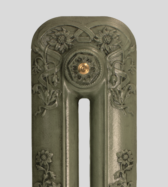 Home Refresh Paladin Cast Iron Radiator Finish Antiqued_Green