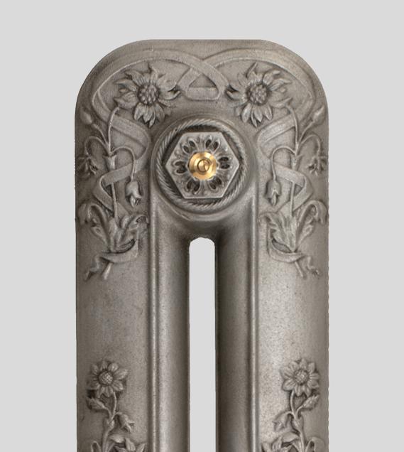 Home Refresh Paladin Cast Iron Radiator Finish Antiqued_Pewter