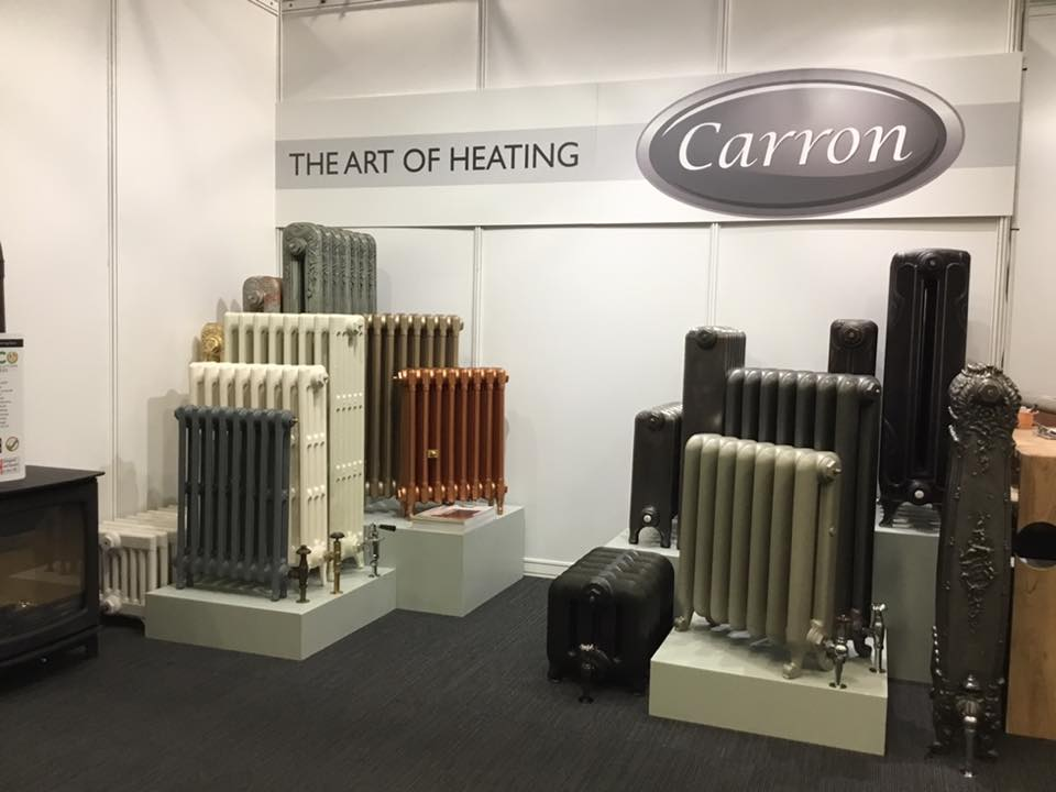 Carron Cast Iron Radiator Display