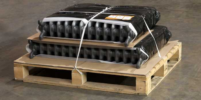 Home Refresh Carron Cast Iron Radiators Made -Wrapped-Protected
