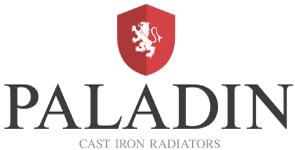 Paladin Cast Iron Radiator Logo